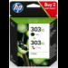 HP 303XL Origineel Zwart, Cyaan, Magenta, Geel Multipack 2 stuk(s)