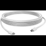 Vision TC 1MUSBCBM USB Kabel 1 m USB 2.0 Micro-USB B USB C Weiß