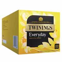 TWININGS EVERYDAY TEA BAGS PK400