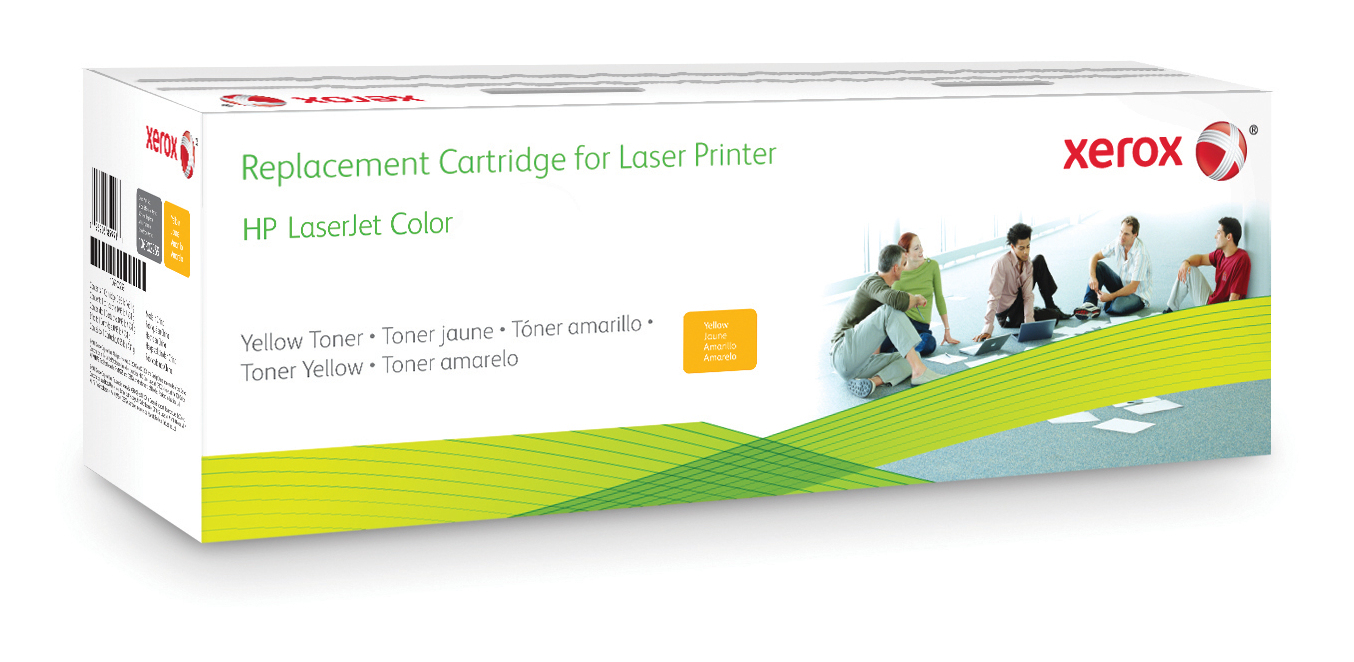 Xerox 006R03459 compatible Toner yellow, 1.4K pages (replaces HP 201A)