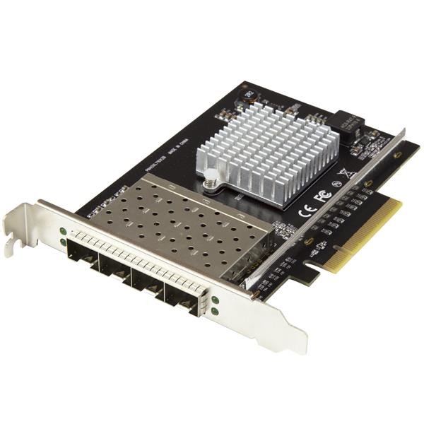 StarTech.com PEX10GSFP4I adaptador y tarjeta de red Fibra 20000 Mbit/s Interno