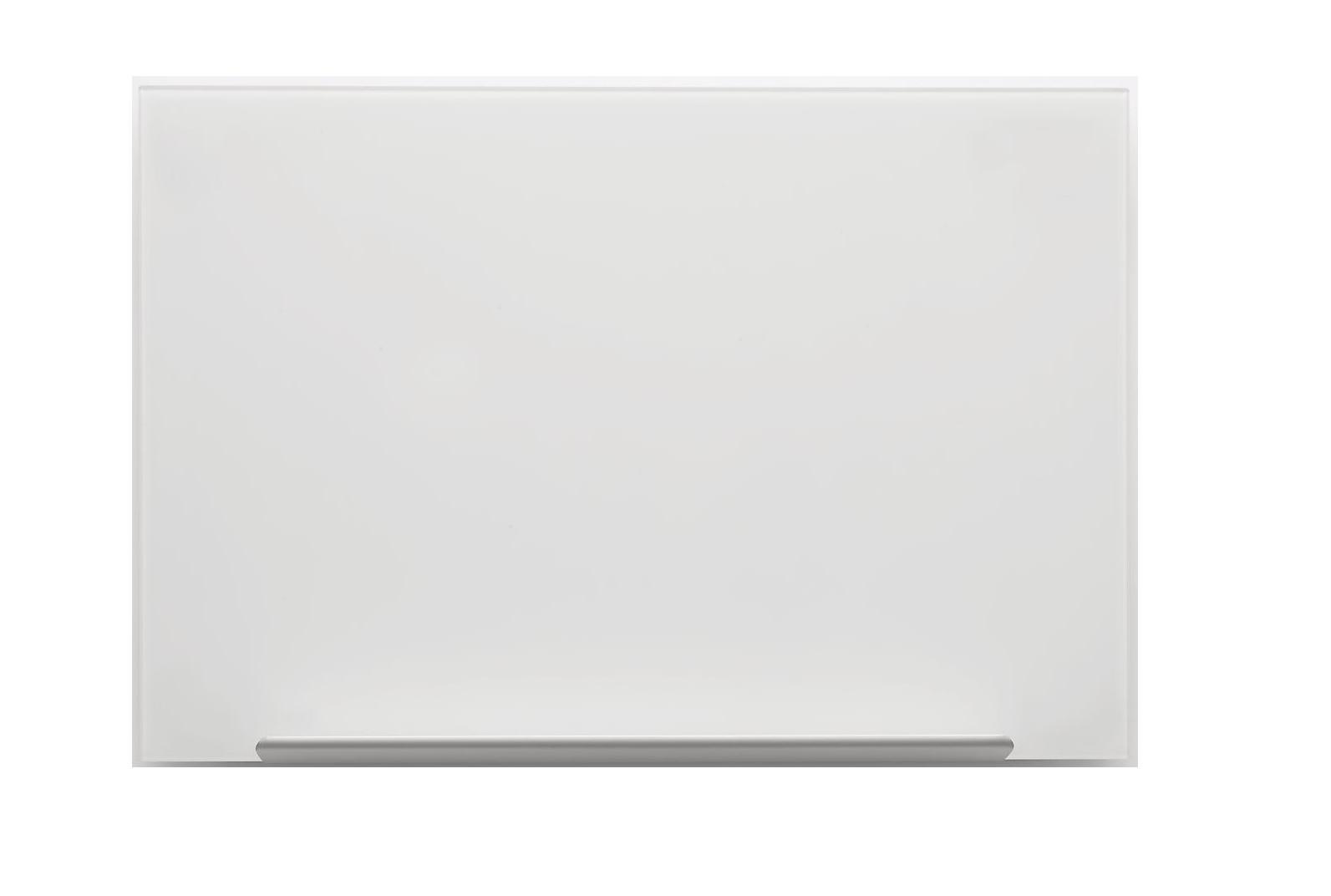 Nobo Pizarra de cristal Diamond magnética color blanco 993x559 mm