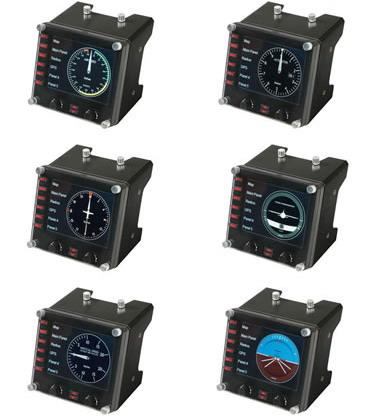 Logitech G G Saitek Pro Flight Instrument Panel