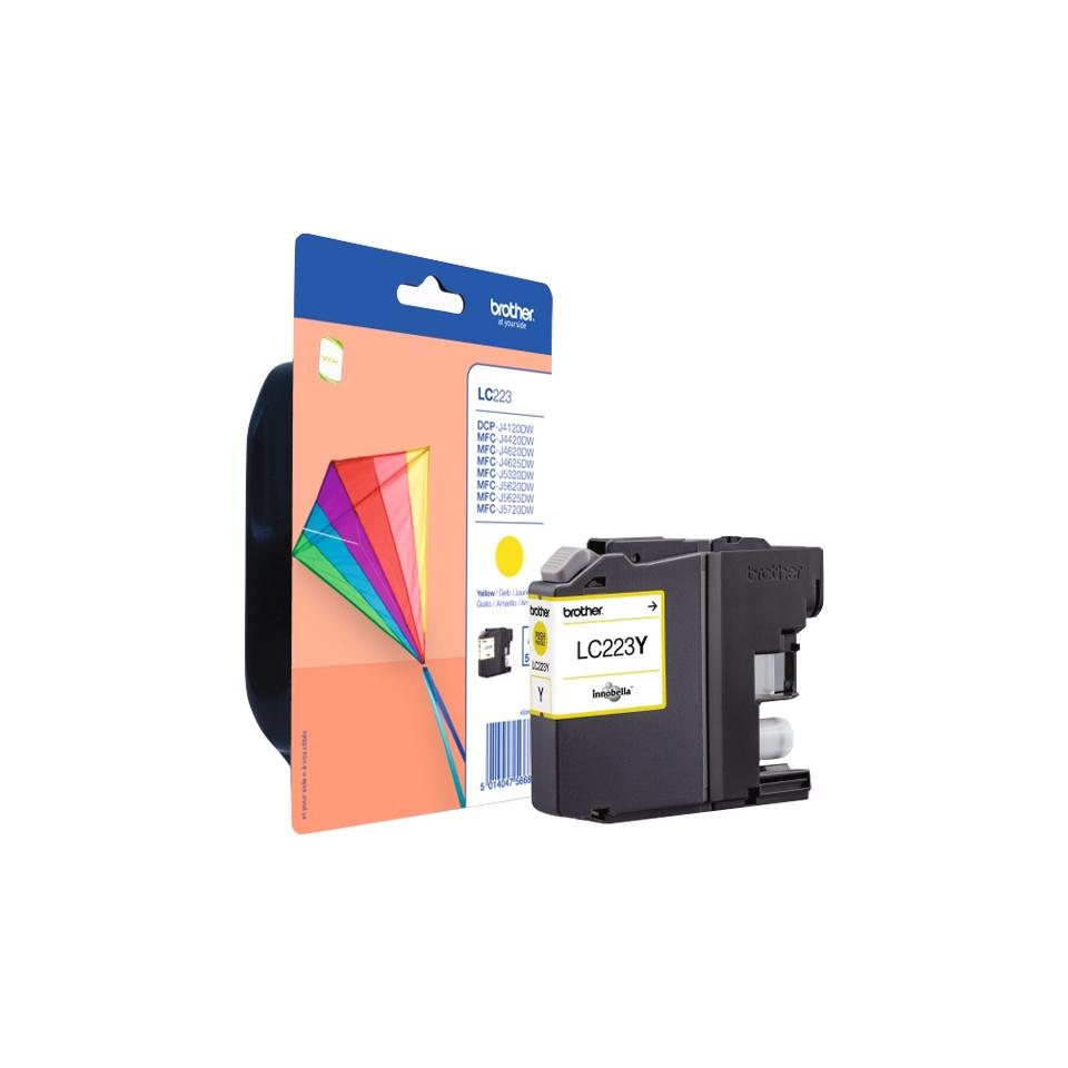 Brother LC-223Y inktcartridge Origineel Geel 1 stuk(s)