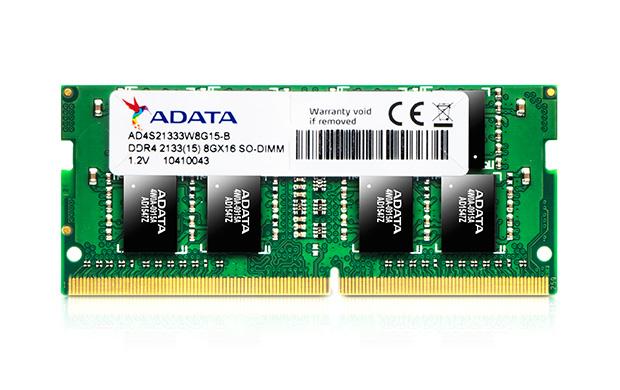 ADATA 16GB DDR4 2133MHZ SO-DIMM 16GB DDR4 2133MHz memory module