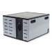 Ergotron Zip12 Portable device management cabinet Grey