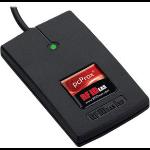 RF IDeas pcProx 82 smart card reader USB 2.0 Black