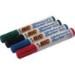 BIC Velleda Whiteboard 1751 marker 4 pc(s) Chisel tip Black, Blue, Green, Red