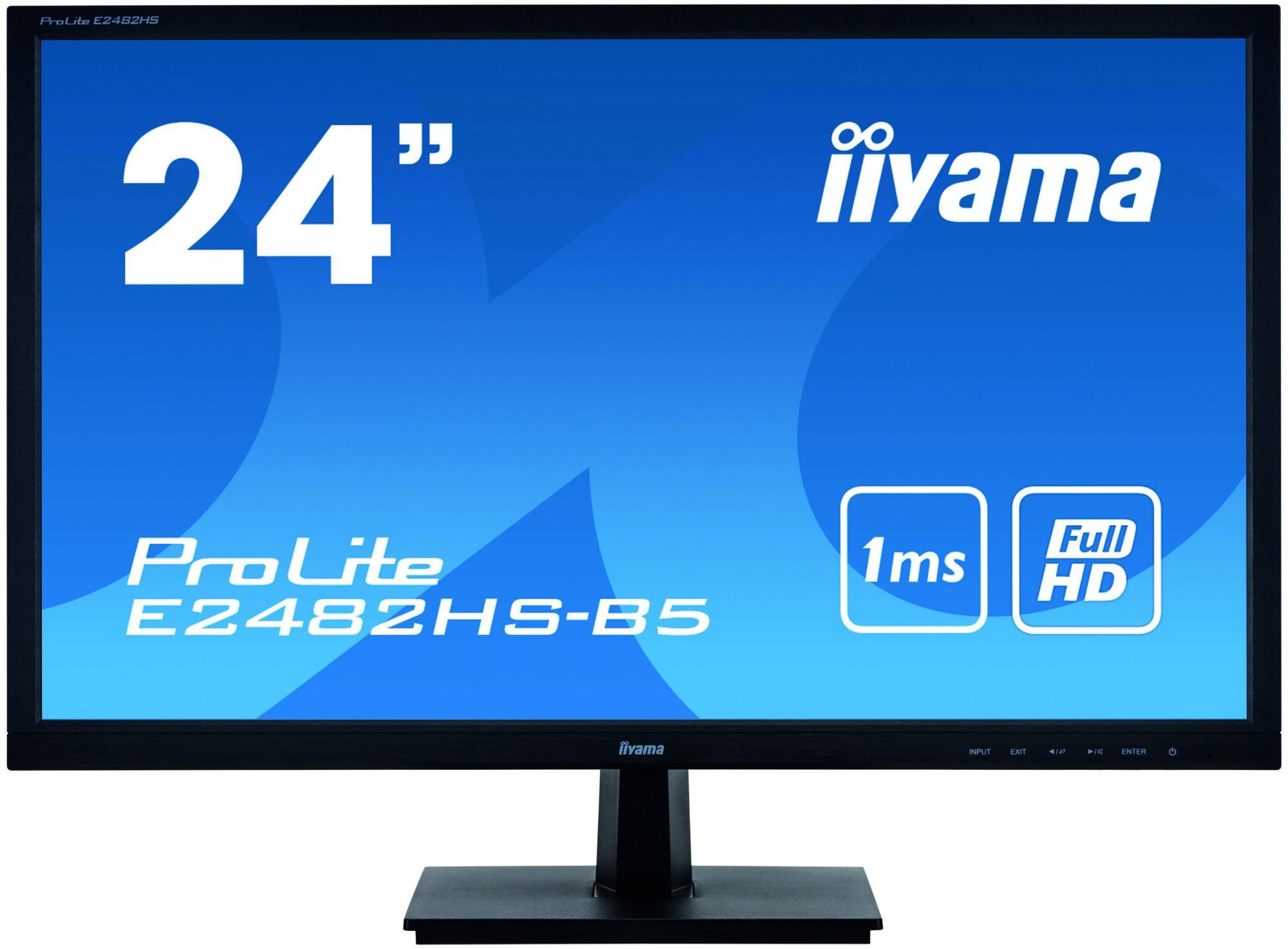 iiyama ProLite E2482HS-B5 computer monitor 61 cm (24