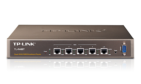 TP-LINK TL-R488T Brown router