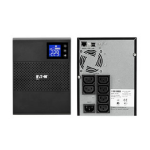 Eaton 5SC750i 750VA 6AC outlet(s) Tower Black uninterruptible power supply (UPS)