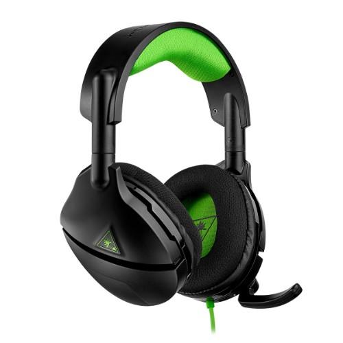 Turtle Beach Stealth 300 Head-band Binaural Wired Black, Green mobile headset
