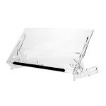 R-Go Tools GO Flex Document Holder, L, adjustable, transparent