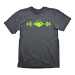 OVERWATCH Men's Lucio's Beat T-Shirt, Medium, Charcoal (GE1894M)