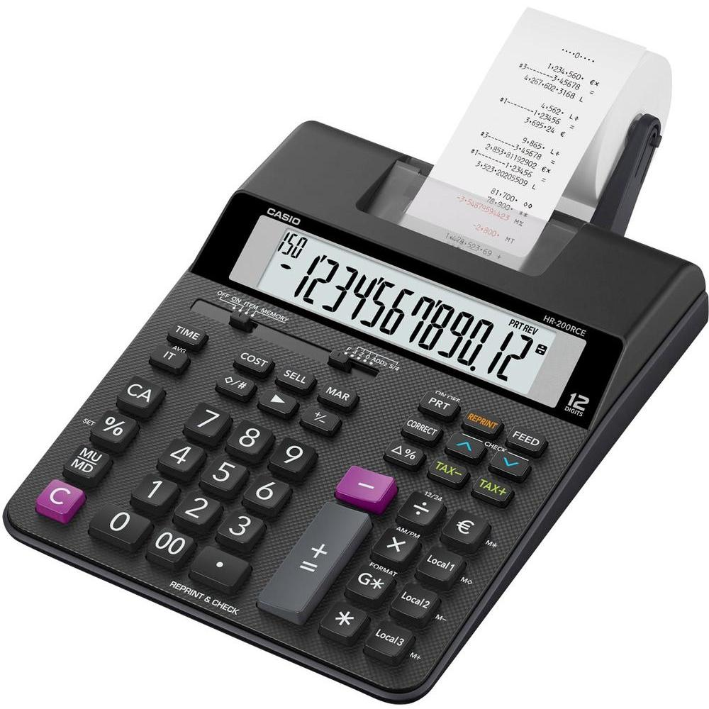 2 Colour Print Calculator (hr-200rce-w-ec)