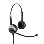 VXi UC ProSet 21V Binaural Head-band Black headset