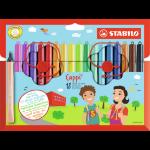 STABILO Cappi felt pen Medium Multicolour 18 pc(s)