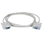 "Black Box BC00231 serial cable White 177.2"" (4.5 m) DB9"