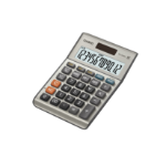 Casio MS-120BM calculator Desktop Basic Grey