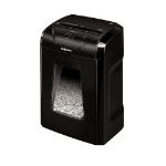 Fellowes Powershred 12C triturador de papel Corte en tiras 22,5 cm Negro