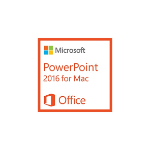 Microsoft PowerPoint 2016 for Mac, 1u