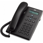 Cisco 3905 IP phone Black Wired handset 1 lines