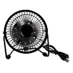QVS FAN-U1 household fan Black