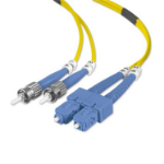 Belkin 10m ST / SC 10m ST SC Yellow fiber optic cable