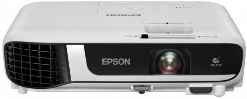 Epson EB-W51 videoproyector 4000 lúmenes ANSI 3LCD WXGA (1280x800) Proyector para escritorio Blanco