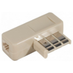 EXC 911910 cable gender changer RJ-11 Terminal Grey