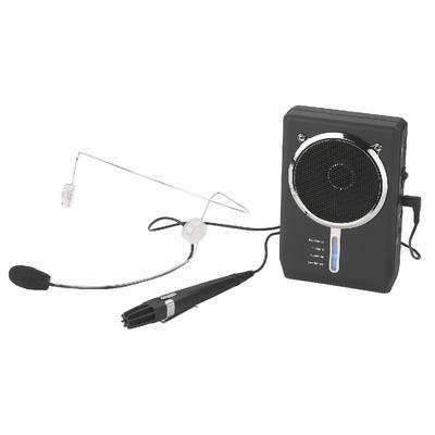 Monacor WAP-7D headphone amplifier 5 W Black