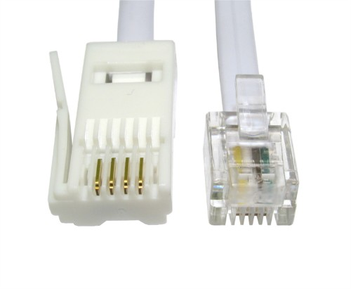 Cables Direct RJ11/BT 3m telephony cable White