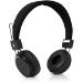 V7 Lightweight Stereo Headset - Black