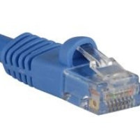 Microconnect UTP CAT5e 25m 25m Cat5e U/UTP (UTP) Blue networking cable