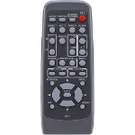 Hitachi HL02772 remote control IR Wireless Projector Press buttons