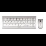 CHERRY DW 8000 keyboard RF Wireless QWERTZ German Silver, White