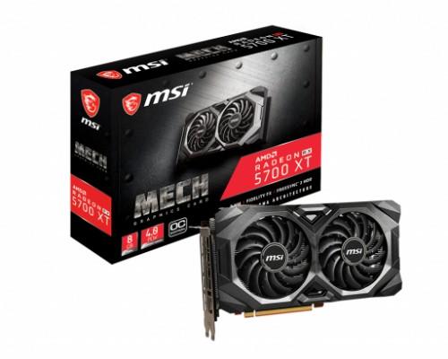 MSI Radeon RX 5700 XT MECH OC 8 GB GDDR6