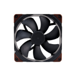 Noctua NF-A14-Industrial PPC-2000 PWM Computer case Fan 14 cm 1 pc(s) Black, Brown
