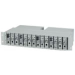 Black Box LMC200-2PS network equipment chassis Silver