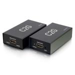 C2G 60180 AV extender AV transmitter & receiver Black