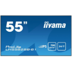 "iiyama LH5582SB-B1 Digital signage flat panel 54.6"" LED Full HD Black signage display"