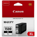 Canon PGI-1500XL BK cartucho de tinta Original Negro 1 pieza(s)