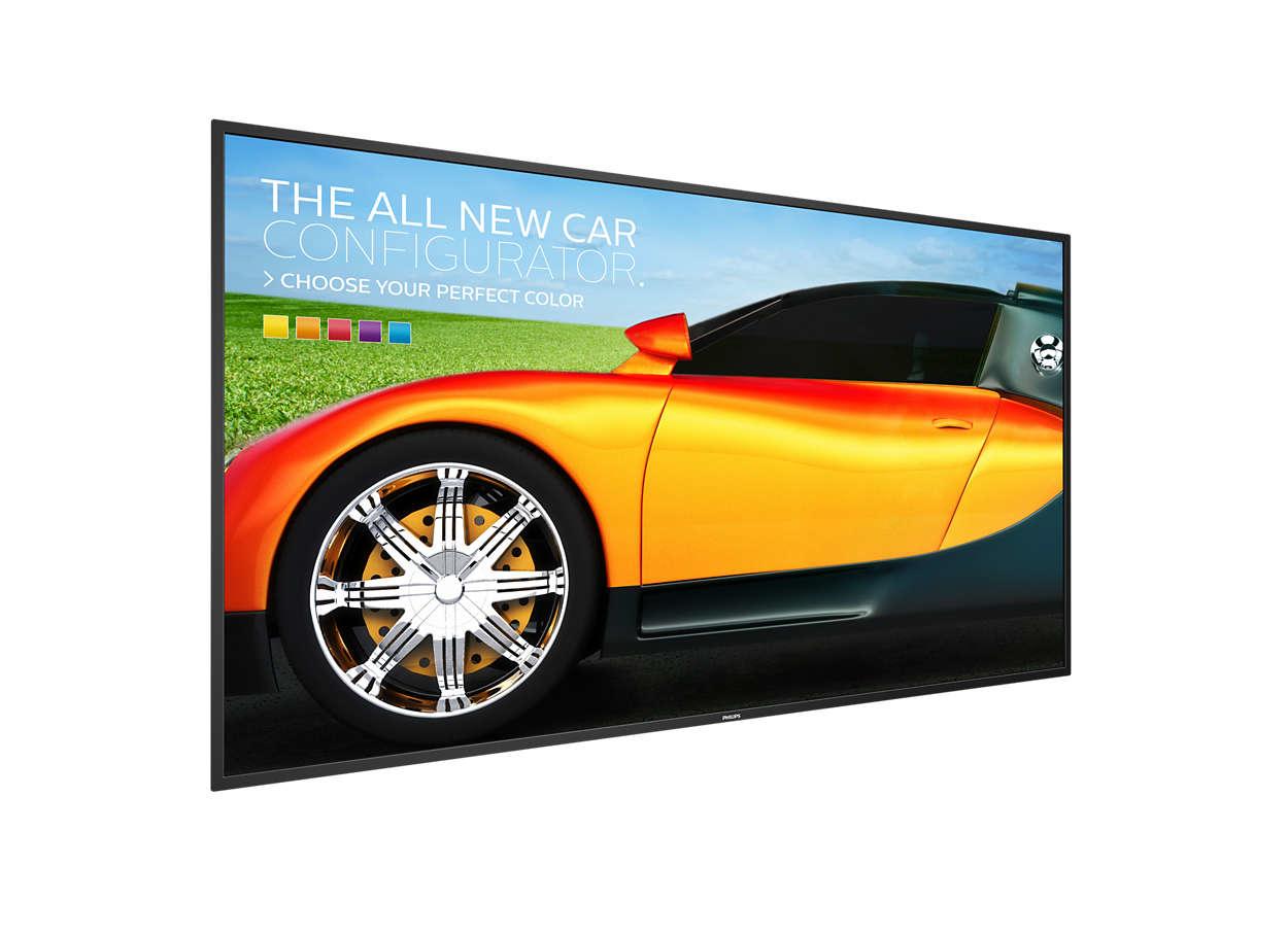 "Philips 50BDL3050Q/00 pantalla de señalización 125,7 cm (49.5"") 4K Ultra HD Pantalla plana para señalización digital Negro"