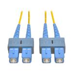 Tripp Lite Duplex Singlemode 8.3/125 Fiber Patch Cable (SC/SC), 2M