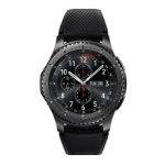"Samsung Gear S3 Frontier smartwatch Black SAMOLED 3.3 cm (1.3"") GPS (satellite)"