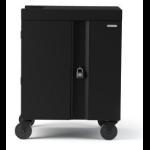 Bretford Cube Cart Portable device management cart Black
