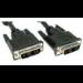 Cables Direct 2m DVI-D m/m DVI cable Black