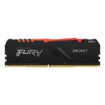 Kingston Technology FURY Beast RGB memory module 8 GB 1 x 8 GB DDR4 2666 MHz