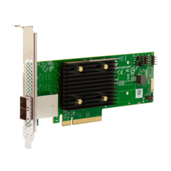 Broadcom HBA 9500-8e interface cards/adapter SAS Internal