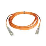 Tripp Lite Duplex Multimode 62.5/125 Fiber Patch Cable (LC/LC), 25M
